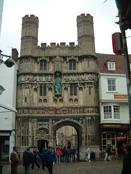 Файл:Canterbury - Das Christ-Church-Tor, Eingang zur Kathedrale von Canterbury.jpg