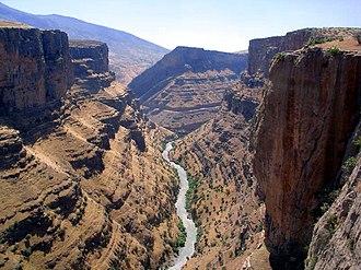 Iraqi Kurdistan - A canyon near the northern city of Rawandiz