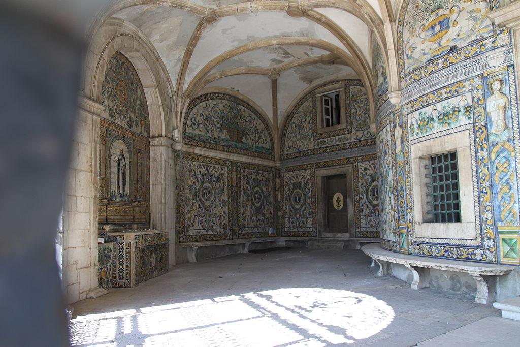 Azulejos de la chapelle de Santo Amaro de Lisbonne - Photo de João Carvalho