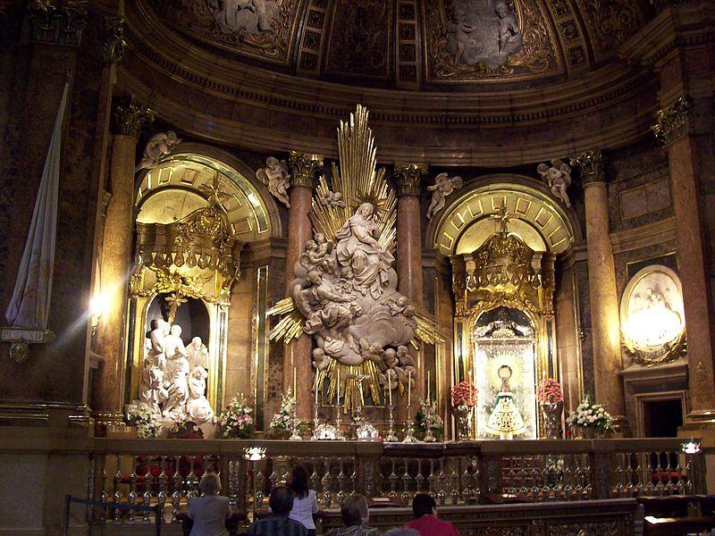 A grande festa para Virgem do Pilar
