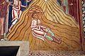 Cappella di san silvestro, affreschi del 1246, storie di costantino 09 elena trova la vera croce in terrasanta 3.jpg