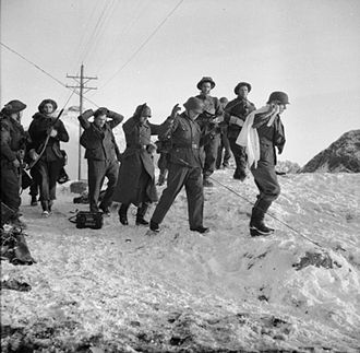 British Commando operations during the Second World War - German soldiers captured during Operation Archery
