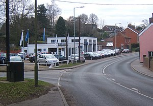 English: Car dealership on Ipswich Road