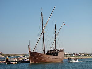 Lagos, Portugal - Replica of the caravel Boa Esperança
