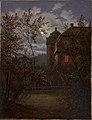 Carl Gustav Carus - Schloss Milkel im Mondschein (1833-1835).jpg