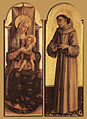 Carlo Crivelli - Madonna and Child; St Francis of Assisi - WGA05787.jpg