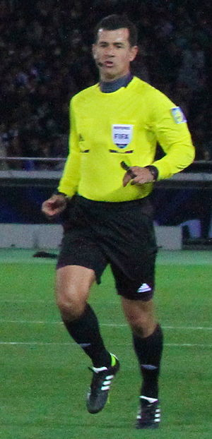 Carlos Vera - Vera at the 2012 FIFA Club World Cup