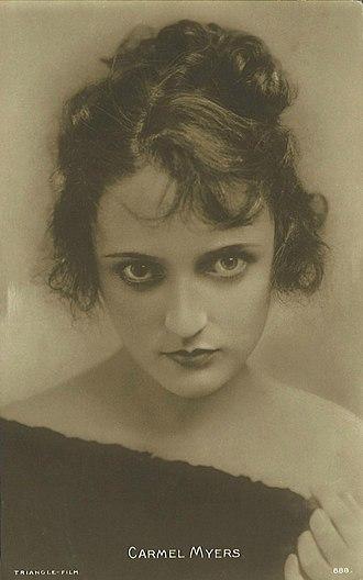 Carmel Myers - Image: Carmel Myers ca. 1917