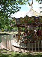 Carousel in Zoo Boise