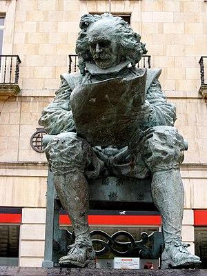 Juan Carreño de Miranda - Statue of Juan Carreño de Miranda, in Avilés