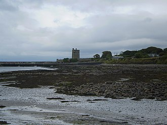 Carrigaholt - Carrigaholt Castle as seen from the main town area