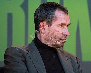 Carsten Jensen Danish author and political columnist