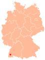 Carte Fribourg en Allemagne.png