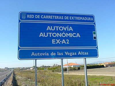 Anexo Red De Carreteras De Extremadura Wikipedia La