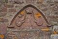 Carved stone at Vayne Farm - geograph.org.uk - 766688.jpg