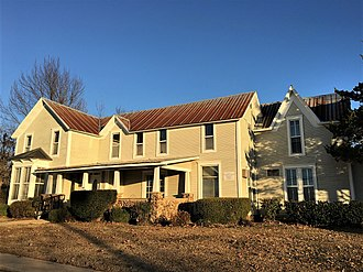 National Register of Historic Places listings in Baxter County, Arkansas - Image: Case Shiras Dearmore House NRHP 91000580 Baxter County, AR
