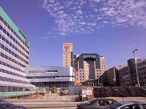 University Hospitals of Cleveland - Facilities under construction in 2010