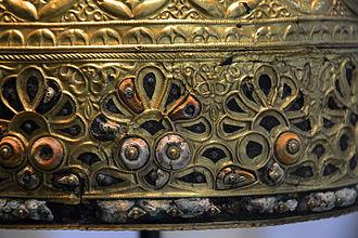 La Tène culture - Detail from the Agris Helmet