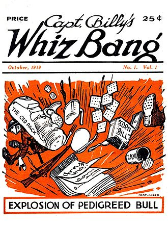 Fawcett Publications - Debut issue of Captain Billy's Whiz Bang (October 1919)