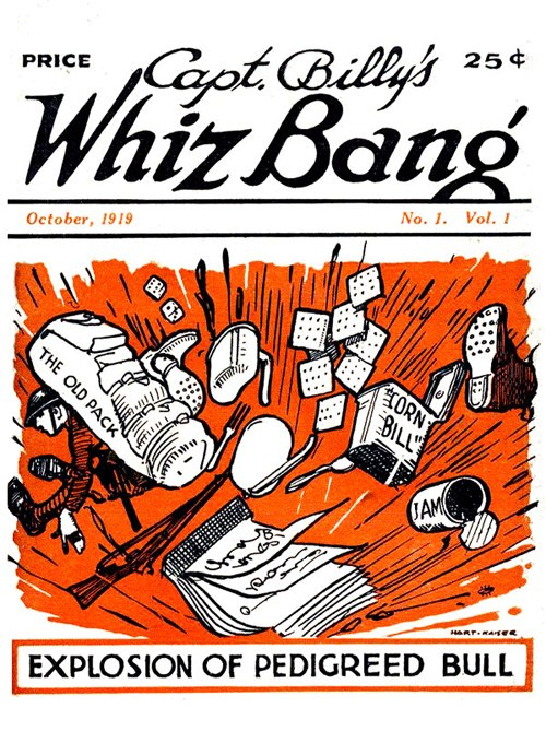 Cast Billy's Whiz Bang cover
