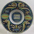 Casteldurante, piatto con motto 'col tempo', 1530 ca..JPG