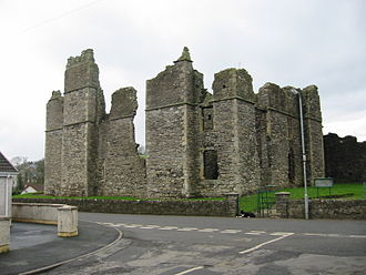 Castlecaulfield - The ruins of the castle