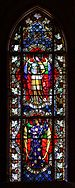 Castle in Malbork, stained-glass window in the church02.jpg