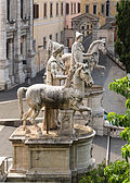 Castor Pollux Dioscures Capitole, Rome, Italy.jpg