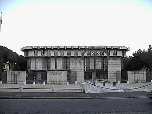 Povl Ahm - British Embassy in Rome