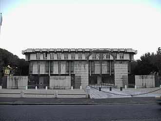 Basil Spence - The Embassy of the United Kingdom, Rome