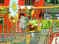 Caterpillar roller coaster at Brean Leisure Park.jpg