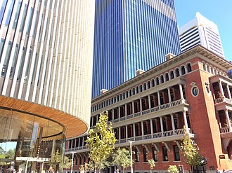 Cathedral Square, Perth - Image: Cathedral Square Perth Hay Street
