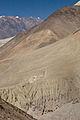 Caves between Khingar and Kagbeni (4524171898).jpg