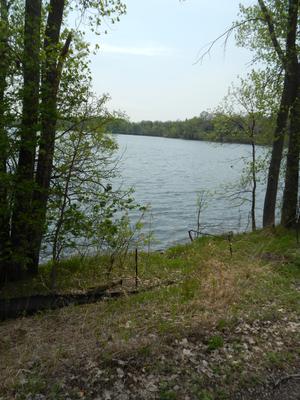 Cedar Lake (Minneapolis) - North shore of Cedar Lake, Minnesota, May 2013.