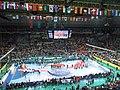 Celebración Campeonato del Mundo de balonmano 2013.jpg