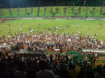 Celebraci%C3%B3n Caracas FC Copa Venezuela 2009