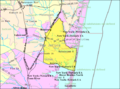 Census Bureau map of Brick Township, New Jersey.png