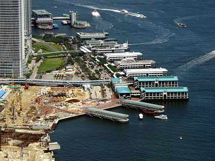 View of the Central Piers. Central Piers Overview 2010.jpg