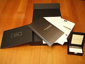 Centurion Card - Hong Kong Centurion Invitation Kit