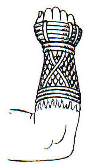 Cestus - Drawing of a cestus