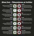 Cf33137 960 Ja-vi-elsker-frihet MINUS-FEM Utstillingsfil symboler (Lill-Ann Chepstow-Lusty, Kulturhistorisk museum 2014, UiO - CC BY-SA 4.0).jpg