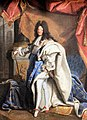 Château de Chantilly, Hyacinthe Rigaud, portrait Louis XIV of France.JPG