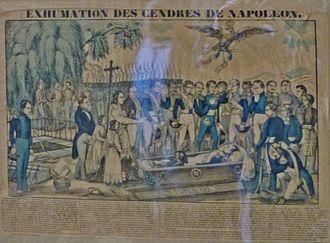 Retour des cendres - Exhumation of the body of Napoleon