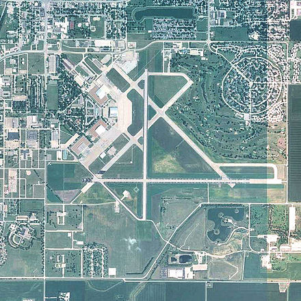 US Geological Survey photograph of the former Chanute Air Force Base, 2008 - Chanute Air Force Base