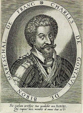 1602 in France - Charles de Gontaut, duc de Biron