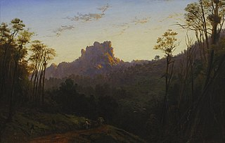 Castle Rock, Coromandel, sunrise, from the Mercury Bay track