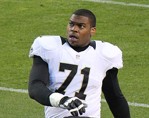 Charles Brown (offensive lineman) - Brown with the Saints in 2012