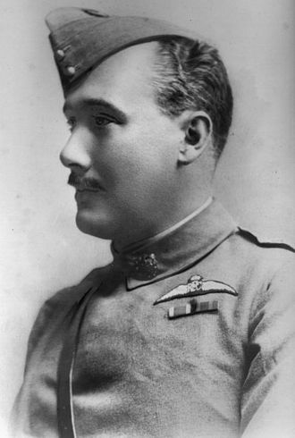 Charles Burke (British Army officer) - Burke in the uniform of the Royal Flying Corps