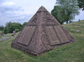 Charles Taze Russell Pyramid, United Cemeteries, 2015-06-08, 03.jpg