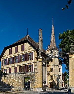 Milvignes - Image: Chateau d'Auvernier 20110831 1809 HDR1